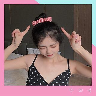 Dây chun buộc tóc vải scrunchies SC01