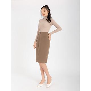 Giày Cao Gót Nữ Quai Hậu Mũi Vuông 7Phân HAPAS - CG7799