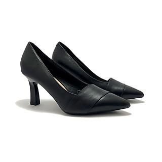 Giày cao gót ZAHAN 7cm, vạt chéo mũi CGZA15