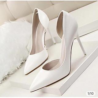 Giày Cao Gót Hở Eo 9P - Cao Cấp - Cực Xinh - Full Size 34-39