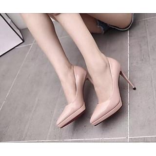 Giày cao gót đế đúp mũi nhọn
