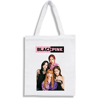 Túi vải tote BlackPink Jennie Jisoo Lisa Rose