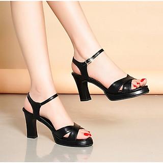 Giày sandan quai chéo mẫu hot Gpshop