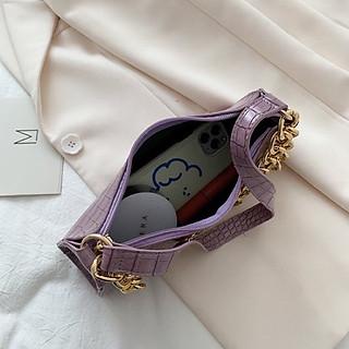 Túi xách nữ đeo chéo nhỏ xinh mini Hàn Quốc kẹp nách đeo vai