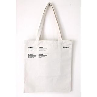 Túi vải tote canvas in hình FIG 018