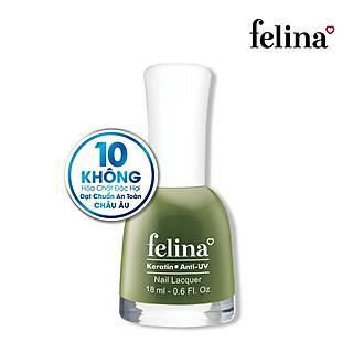 Sơn móng tay Felina 18ml CS503 Xanh Ô Liu