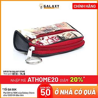 Ví Móc Khóa Để Tiền Lẻ Thẻ Xe Giấy Tờ Nhỏ Gọn Tiện Lợi Galaxy Store (6.5x10.5 cm)