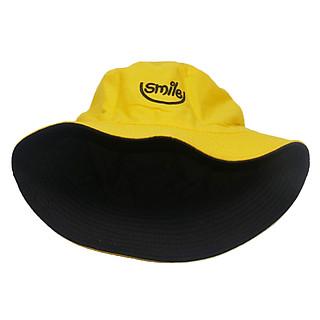 Mũ bucket tai bèo 2 mặt thêu chữ Smile mang đến phong cách vui vẻ mới - Hạnh Dương
