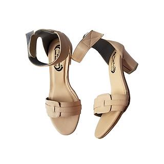 Giày Sandal Cao Gót BIGGBEN Da Bò Thật SDCG57