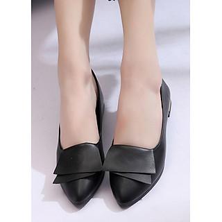 Giày Cao Gót Vuông GCG04 (3 Phân)