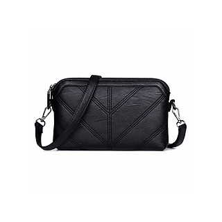Túi đeo chéo nữ chất liệu da mềm kiểu dáng đơn giản