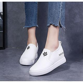 Giày Sneakers Nữ Độn Đế 6cm Da PU Mã H93T
