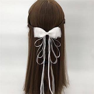 Cài kẹp tóc cổ trang NƠ VOAN nhiều màu phong cách Trung Quốc