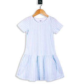 Váy Bé Gái 3-12 Tuổi Ngắn Tay MEEJENA Váy Cho Bé Gái Đủ Họa Tiết Vải Thun Hoa - 1571