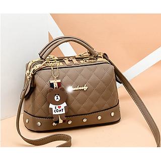 Túi xách nữ túi công sở nữ đính đá thanh lịch sang trọng phong cách Hàn Quốc TN82
