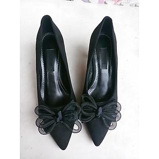 giày cao 6 phân gót nhọn