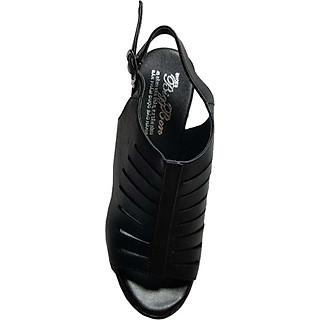 Giày Sandal Nữ Cao Gót BIGGBEN Da Bò Thật SDCG03