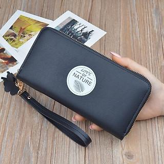 Ví dài nữ đựng tiền cầm tay mini Nature nhỏ xinh VN32