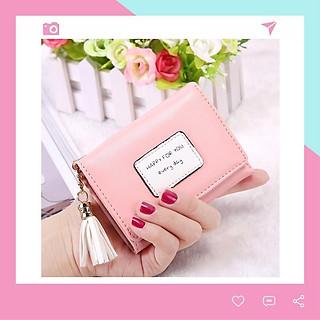 Ví bóp nữ cầm tay đựng tiền nhỏ mini siêu đẹp Conavi VN14