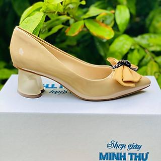 [ Shop giày somina ] Giày VIP gót 5cm đế hình tim MT3046