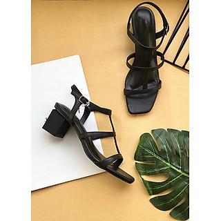 Giày Sandal cao gót 5 cm, hàng siêu xinh và mềm MT50