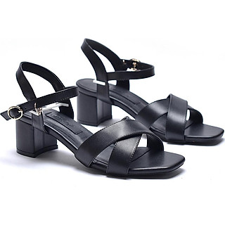 Giày sandal cao gót quai chéo Merly 1176