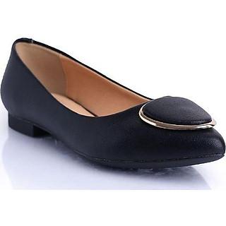 Giày búp bê nữ cao gót 3 phân đế vuông bít mũi sang trọng đẹp, công sở, cao cấp, êm chân