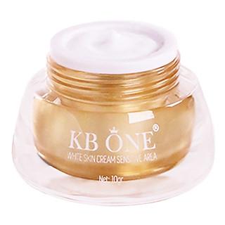 Kem Dưỡng Kb One White Skin Cream Sensitive Area (10gr)