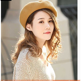 Mũ nồi nữ phong cách Hàn, nón bánh tiêu retro thời trang
