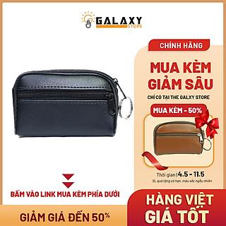 Ví Nhỏ Gọn Nam Nữ Để Tiền Lẻ Thẻ Xe Giấy Tờ Nhỏ Gọn Móc Khóa Tiện Lợi Galaxy Store GVMKB01 (6.5x10.5 cm)