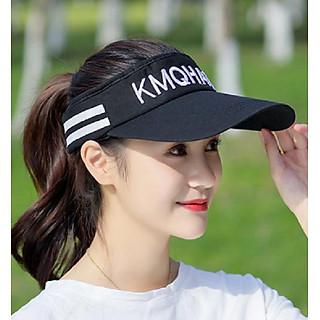 Mũ lưỡi trai nửa đầu thể thao phong cách Hàn, nón thể thao nữ thời trang