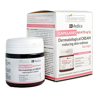 Kem dưỡng phục hồi Bielenda Dr Medica Capillaries Dermatological Face Cream Reducing Skin Redness