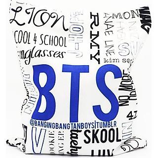 Túi tote vải thiết kế BTS