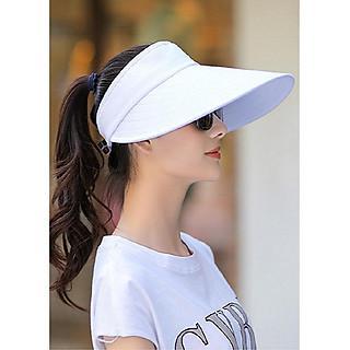 Mũ nón rộng vành chống nắng nửa đầu phong cách Hàn thời trang