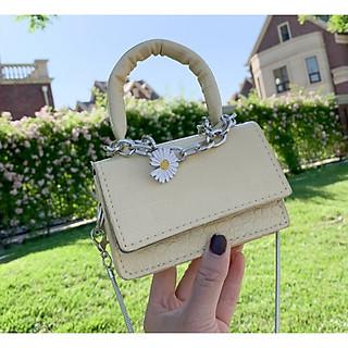 Túi xách nữ, túi đeo chéo, túi mini hoa cúc HOTTREND PK 439