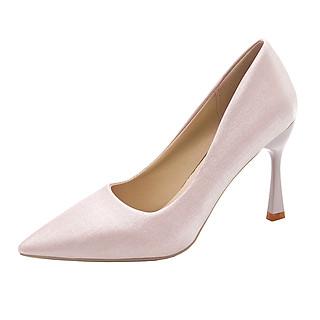 Giày cao gót mũi nhọn gót cao 7cm