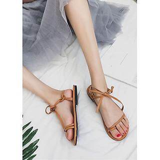 Giày Sandal dây cột nơ