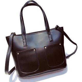 Túi  xách tay nữ công sở bản to có dây đeo