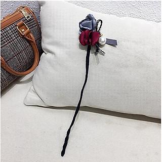 Dây hoa búi tóc đính hoa đại phong cách Hàn Quốc