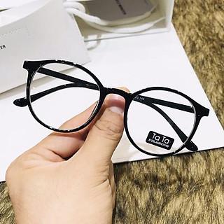 Mắt Kính Giả Cận Thời Trang Form Tròn Mk07