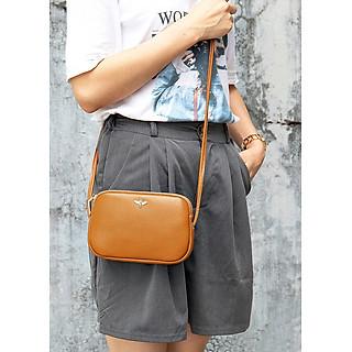 Túi đeo chéo nữ mini MARRANT BHM8201 Da bò thật. Túi đeo vai nữ.