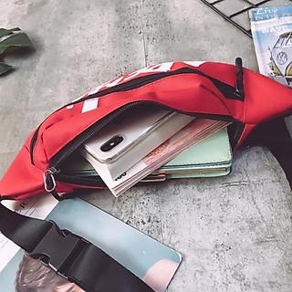 Túi đeo chéo AP tặng đầu bảo vệ dây sạc, cực chất, bền bỉ, họa tiết bắt mắt