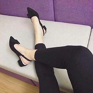 B3 - Sandal cho nữ, sandal đế cao lơ lụa