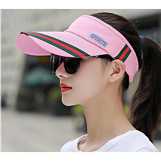 nón kết thể thao nửa đầu phong cách Hàn, mũ lưỡi trai nửa đầu nữ