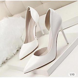 Giày Cao Gót Hở Eo 9P - VNXK Cao Cấp - Full size 34-40