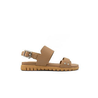 Giày sandal nữ quai ngang đế bệt 3cm năng động PABNO - PN13002