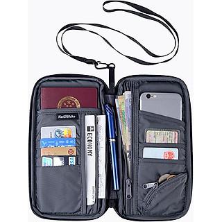 Ví, bóp cầm tay đựng passport, hộ chiếu và thẻ Naturehike NH17C001-B hàng chính hãng