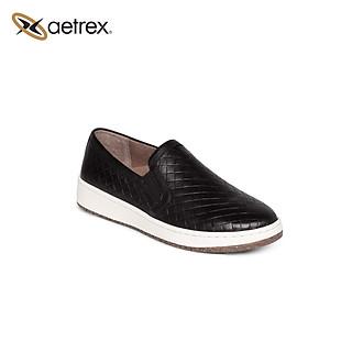 Giày sức khỏe nữ Aetrex Kenzie Black, PC100