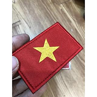 Patch dán velcro cờ các nước