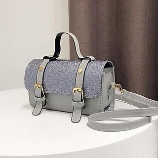 Túi đeo chéo nữ đính kim sa, thời trang, phong cách Hàn Quốc mẫu mới nhất - TKX0315
